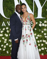 Taye Diggs and Amanza Smith Brown at 2017 Tony Awards