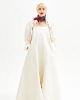 vivienne westwood spring 2019 wedding dress sheath dress with jacket