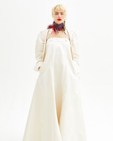 Vivienne Westwood Spring 2019 Wedding Dress Sheath Dress With Jacket
