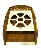wood anniversary gift putt pack