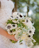 alessa andrew wedding bouquet