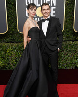 Alison Brie and Dave Franco 2018 Golden Globes