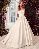 alyne by rita vinieris minimalist strapless ball gown wedding dress spring 2020
