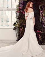 alyne by rita vinieris off-the-shoulder back bow wedding dress spring 2020