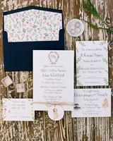 ashlie adam alpert wedding invitation suite