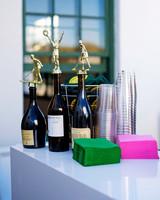 becca zac wedding trophy wine