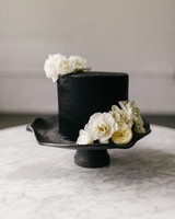 black wedding cake sarah ascanio copperhen