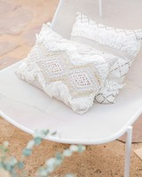 boho chic bachelorette party decor pillows