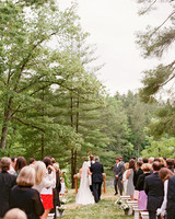 ceremony at camp pinnacle in north carolina