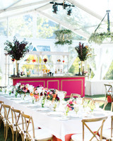 wedding reception table tent