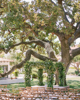 cassandra ben wedding california arch