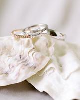 cassandra jason wedding rings on shells