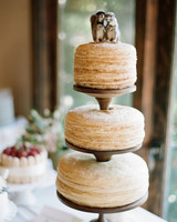 Three-Tiered Naked Crepe Cake