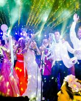 cristina andre wedding party