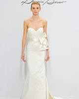 Dennis Basso for Kleinfeld Bow Wedding Dress