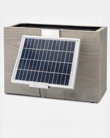 hydro planter solar powered