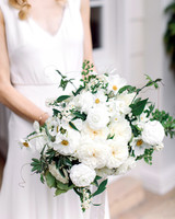 gillian marcus wedding bouquet