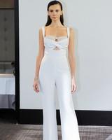 gracy accad long pants wedding dress fall 2018