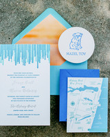 wedding invitation stationery suite