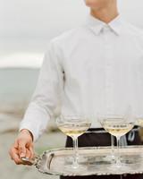 kaitlin dan wedding cocktails