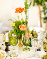 kara bridal shower centerpiece