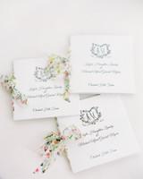 kayla michael wedding programs