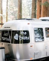 kelly kelsey wedding airstream trailer