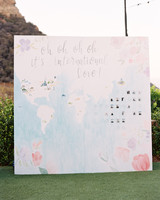 map wedding decor