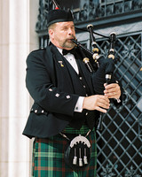 meki ian wedding bagpipes