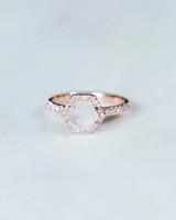 Moonstone Engagement Ring, Davie and Chiyo
