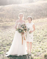 A Bride and Her Mom