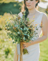 nonfloral wedding bouquets emily delamater