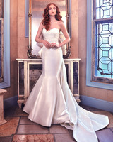 Sareh Nouri Mermaid Wedding Dress with Sweetheart Neckline Spring 2018