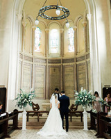 sophie christopher wedding couple ceremony church