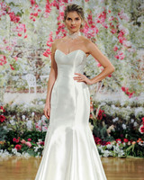 Sottero and Midgley Fall 2017 Strapless Wedding Dress with Sheen