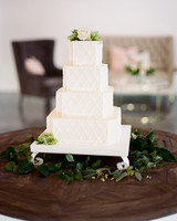 textured wedding cake