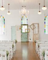 Colorful Windows wedding venue