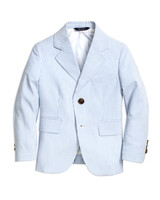 Brooks Brothers Two-Button Seersucker Junior Jacket