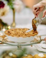 thanksgiving rehearsal dinner pie