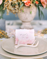 tiny antlers place card holders