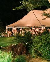 vanessa steven wedding tent