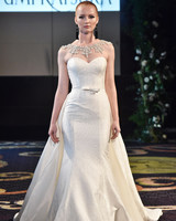 yumi katsura mermaid sweetheart wedding dress fall 2018