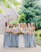 amanda alex wedding bridesmaids