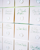 amanda alex wedding escort cards