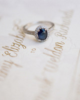 wedding ring blue