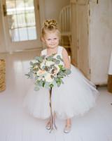 anne and staton wedding flower girl