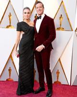Armie Hammer and Elizabeth Chambers 2018 Oscars