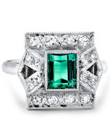 Brilliant Earth Emerald Engagement Ring