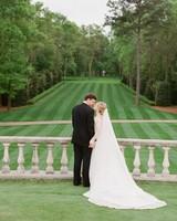 Brooke and David's lawn wedding