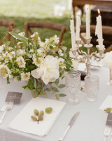 Colby John wedding place setting